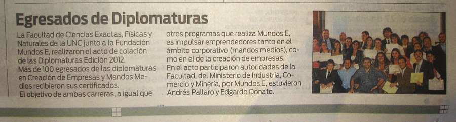 Jose Cabezas en la Diplomatura DCE